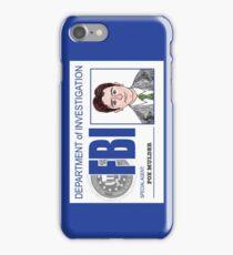 Agent Fox Mulder iPhone Case/Skin