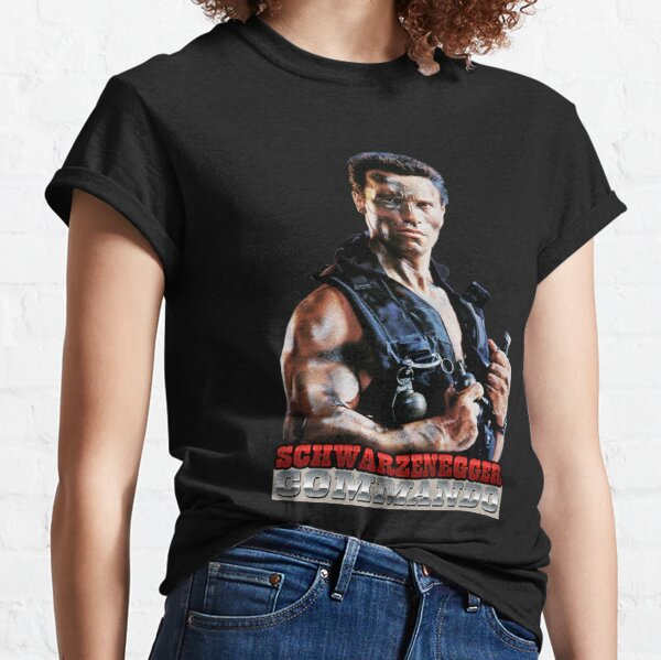 Arnold Schwarzenegger Commando Classic T-Shirt