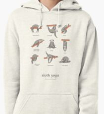 Sloth Yoga - The Definitive Guide Pullover Hoodie
