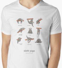 Sloth Yoga - The Definitive Guide Men's V-Neck T-Shirt