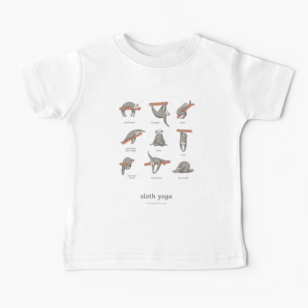 Sloth Yoga - The Definitive Guide Baby T-Shirt