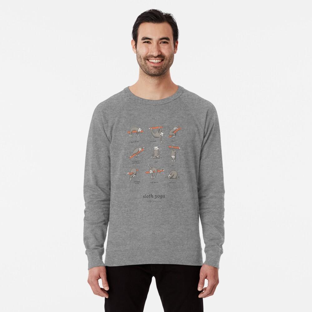 Sloth Yoga - The Definitive Guide Lightweight Sweatshirt