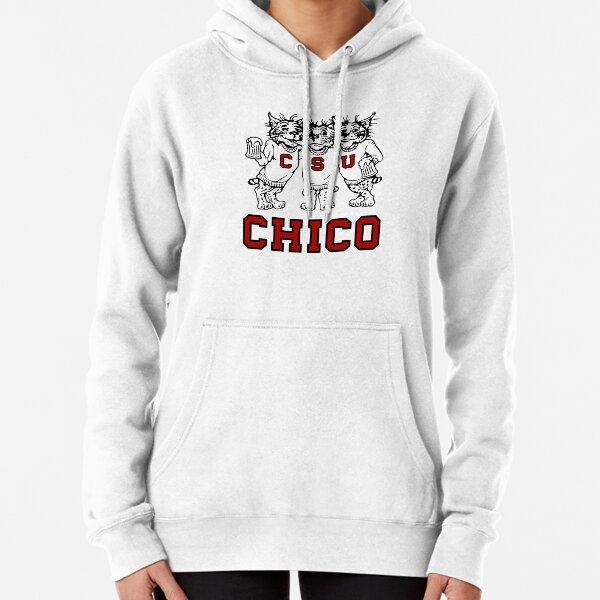 Chico State Vintage Drinking Wildcats Logo aus den 1970er / 1980er Jahren Hoodie