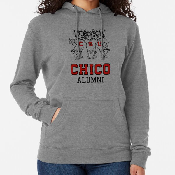 Chico State Alumni  Vintage Drinking Wildcats Logo From The 1970's / 1980's Lightweight Hoodie