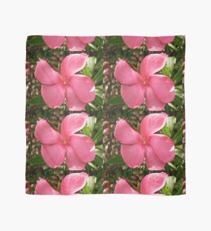 Pink Oleander Scarf