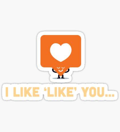Character Building - 'Like' Like Sticker
