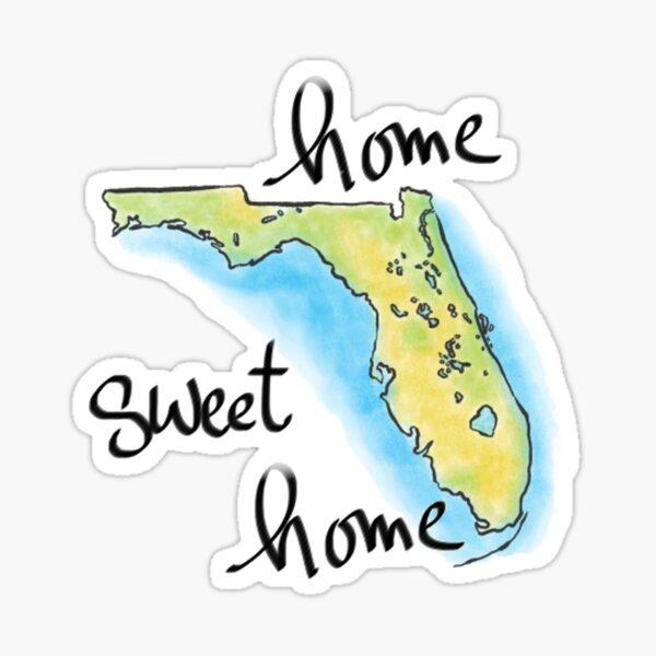 Florida Home Sweet Home Sticker