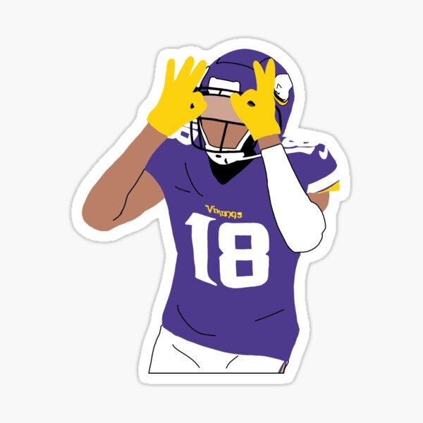 Justin Jefferson  Sticker