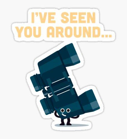 Character Building - Binoculars Sticker