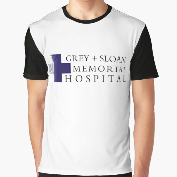 Grey + Sloan Memorial Hospital - Professional Quality Graphics Graphic T-Shirt