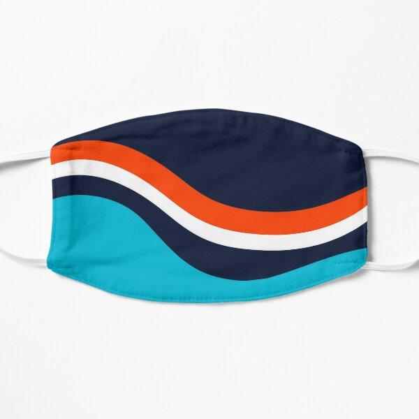 New York islanders retro Stripes Flat Mask