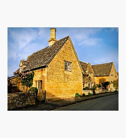 Rose Cottage Photographic Print