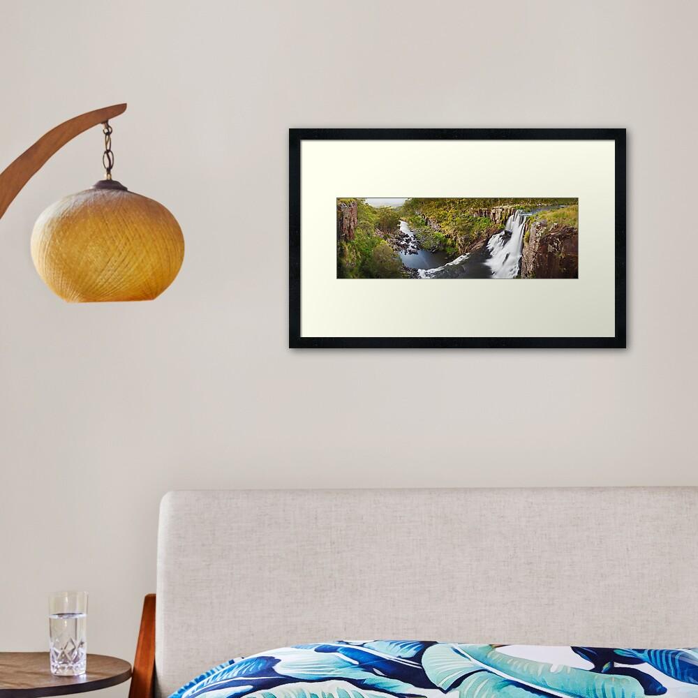 Ebor Falls, Guy Fawkes River National Park, New South Wales, Australia Framed Art Print