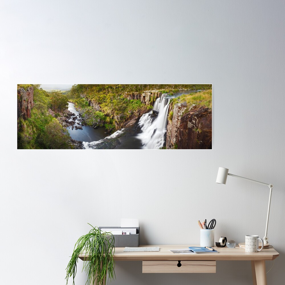 Ebor Falls, Guy Fawkes River National Park, New South Wales, Australia Poster