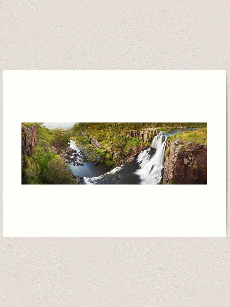 Alternate view of Ebor Falls, Guy Fawkes River National Park, New South Wales, Australia Art Print