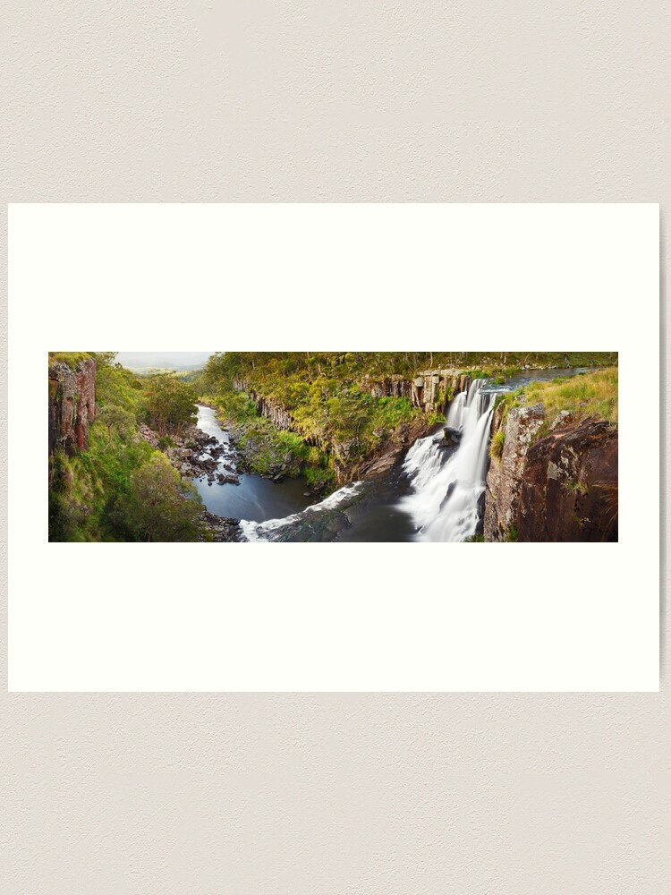 Alternate view of Ebor Falls, Guy Fawkes River National Park, New South Wales, Australia Art Print