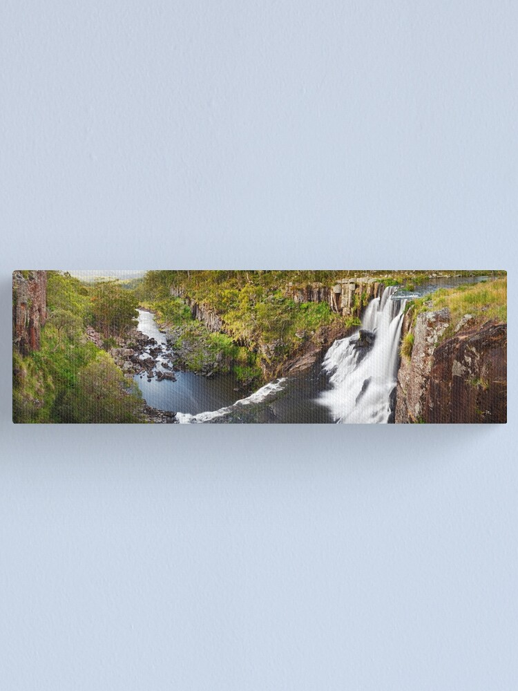 Alternate view of Ebor Falls, Guy Fawkes River National Park, New South Wales, Australia Canvas Print