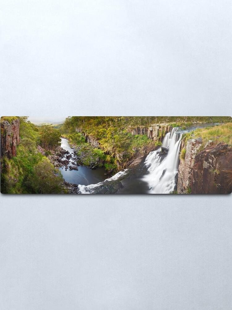 Alternate view of Ebor Falls, Guy Fawkes River National Park, New South Wales, Australia Metal Print