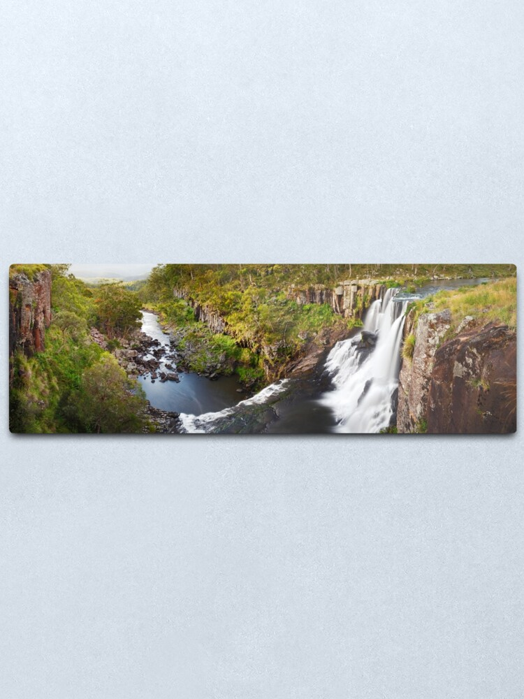 Alternate view of Ebor Falls, Guy Fawkes River National Park, New South Wales, Australia Metal Print