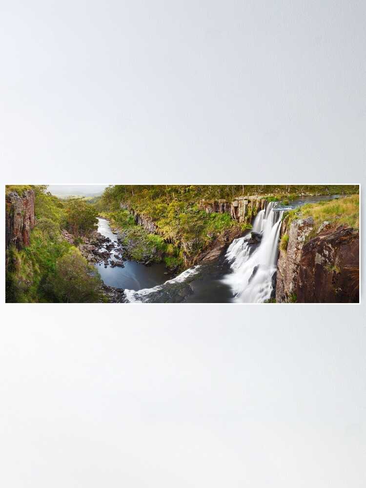 Alternate view of Ebor Falls, Guy Fawkes River National Park, New South Wales, Australia Poster