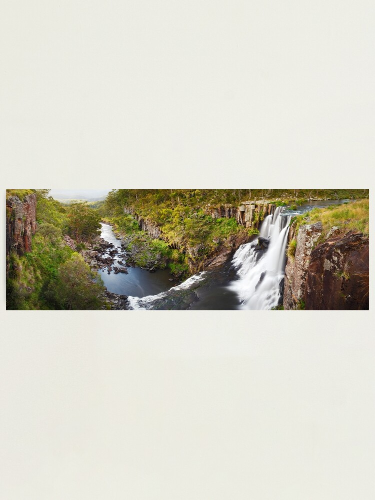 Alternate view of Ebor Falls, Guy Fawkes River National Park, New South Wales, Australia Photographic Print