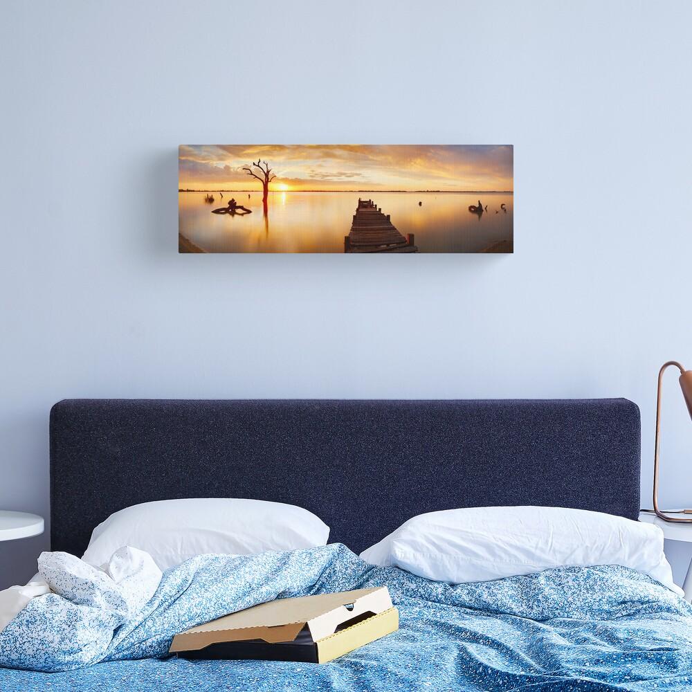 Lake Charm, Kerang, Victoria, Australia Canvas Print
