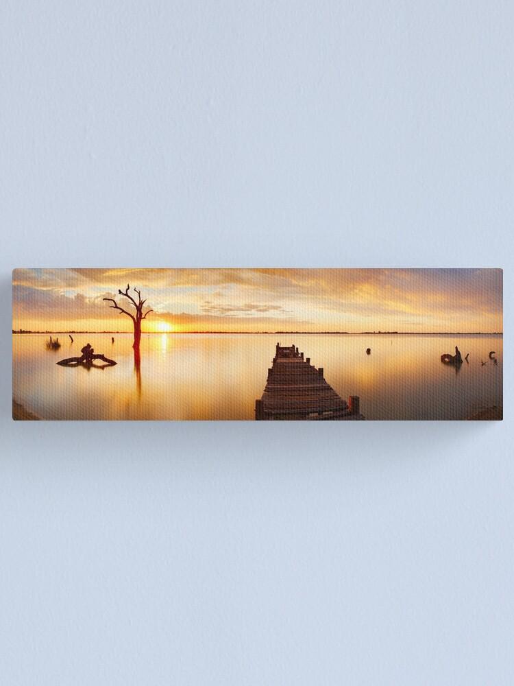 Alternate view of Lake Charm, Kerang, Victoria, Australia Canvas Print