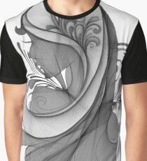 Glamour Girl pencil drawing Graphic T-Shirt