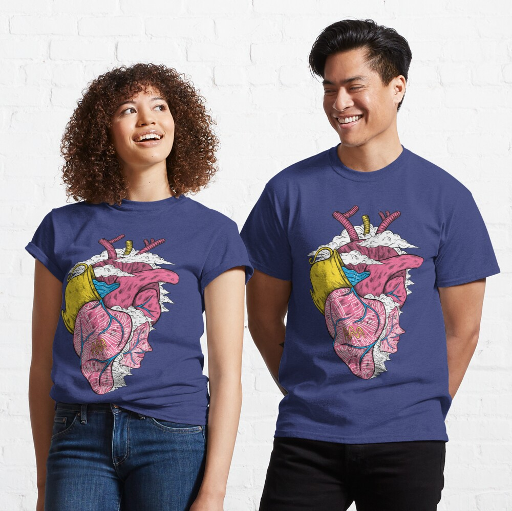 Aquarius Heart Classic T-Shirt