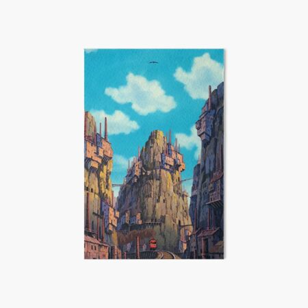 Laputa Scenery  Art Board Print