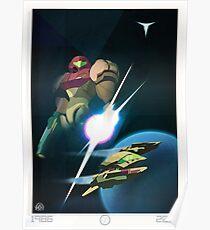 30 Years - Metroid Poster