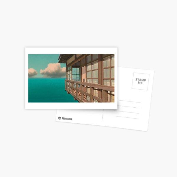 Bathhouse Spirited Away Carte postale