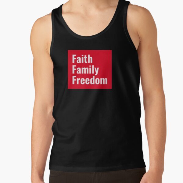 Faith, Family and Freedom Tank Top