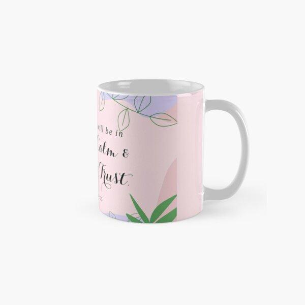 Yeartext 2021 - Pastel Nordic Design Classic Mug