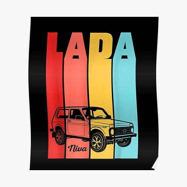 Lada-Niva-Offroad-Vaz-Russias Poster