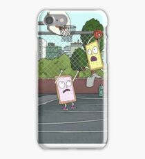 Pop Tart Basketball Rick and Morty iPhone Case/Skin