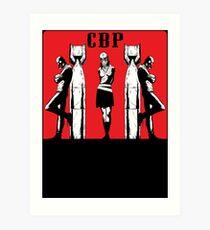 CBP BOMBS Art Print