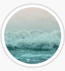 pastel wave Sticker