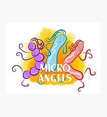 Micro Angels  Photographic Print