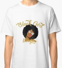 Camiseta clásica Black Girl Magic Graphic