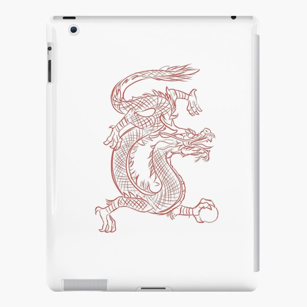 Poster, poster, drawing | Red Dragon iPad Snap Case