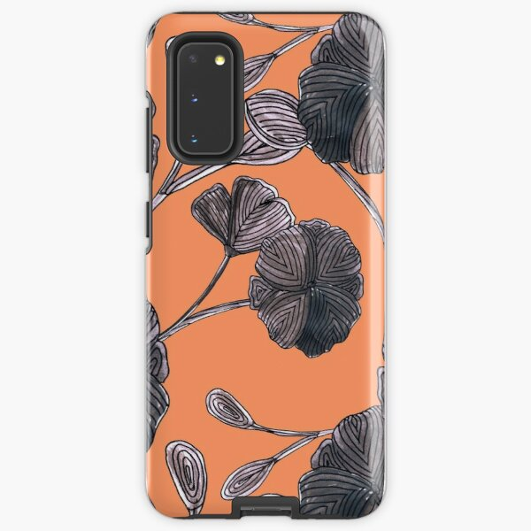 Flower patterned  Samsung Galaxy Tough Case