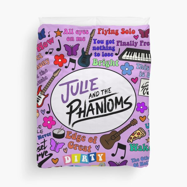 Julie and the phantoms collage Duvet Cover