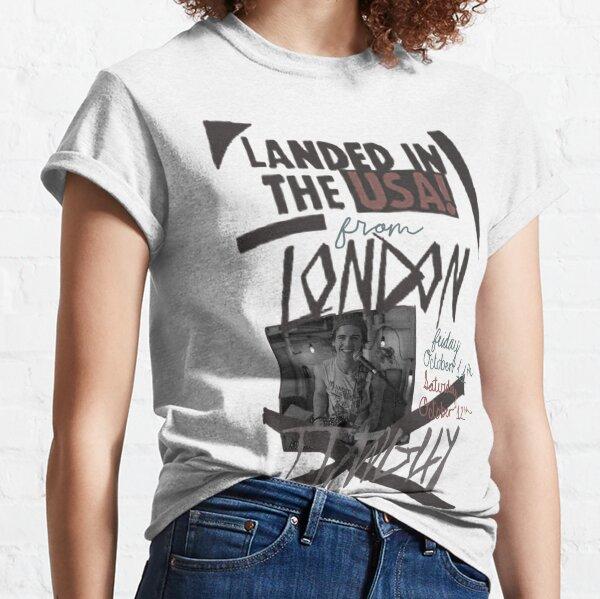 Aterrizado en los Estados Unidos desde Londres Camiseta clásica