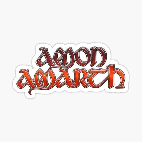 logotipo de amon amarth Pegatina