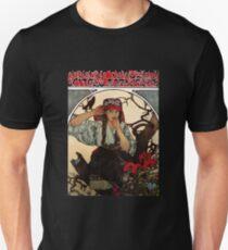 'Moravian Teachers Choir' by Alphonse Mucha (Reproduction) Unisex T-Shirt