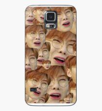 Funda/vinilo para Samsung Galaxy Monsta x collage de cara