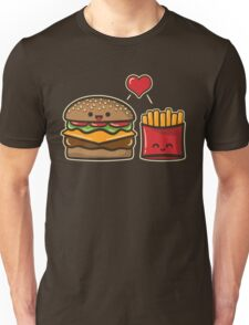 Burger and Fries Unisex T-Shirt
