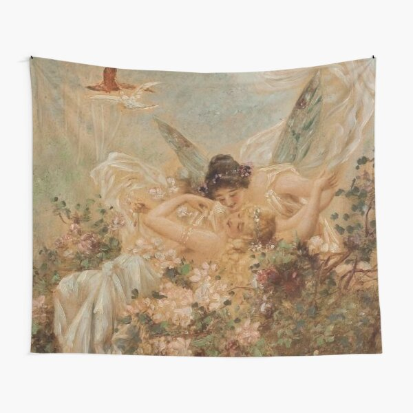 Sapphic Painting Tapestry