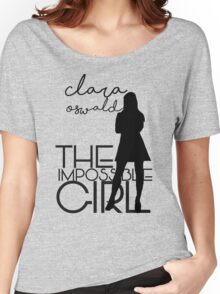 The Impossible Girl- Clara Oswald Women's Relaxed Fit T-Shirt